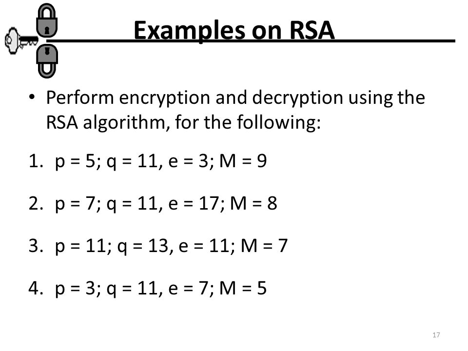 the rsa algorithm Your toughest technical questions will likely get answered within 48 hours on researchgate, the professional network for scientists.