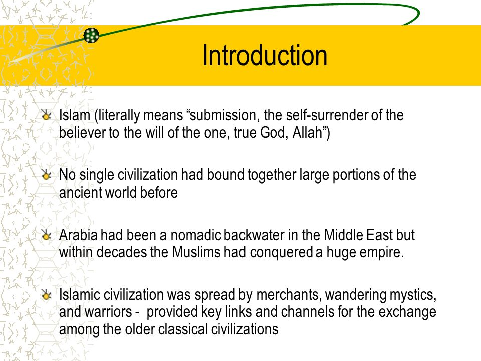 """an introduction to the analysis of the spread of islamic civilization 1 the islamic state sudanese(is) and the """"mahdiyyah"""": a comparative analysis of two apocalyptic jihadist states by dr anthony celso introduction the islamic state of iraq (isi) june 2014 formation of a transnational caliphate is an extraordinary event."""