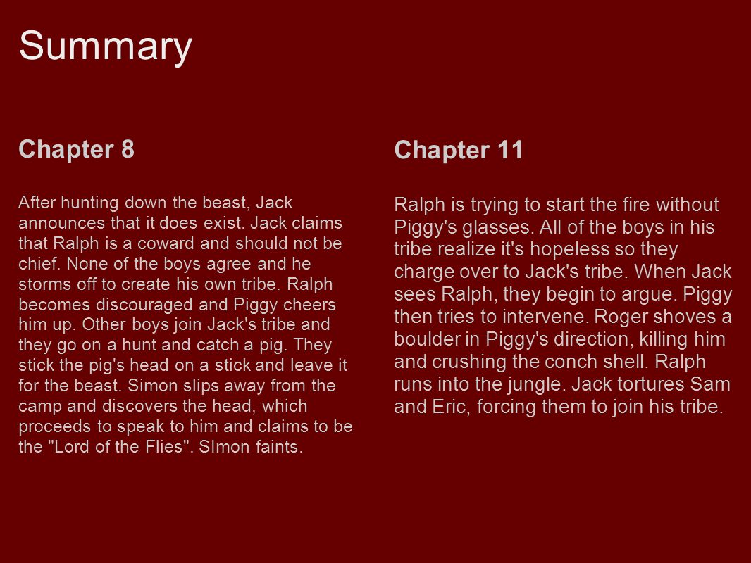 chapter 8 summary 2 Study history 104 after the fact summary chapter 8doc notes from rob h.