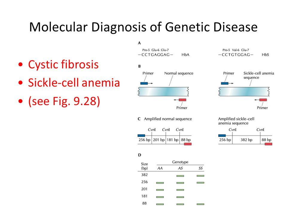 Chapter 9-Molecular Diagnostics