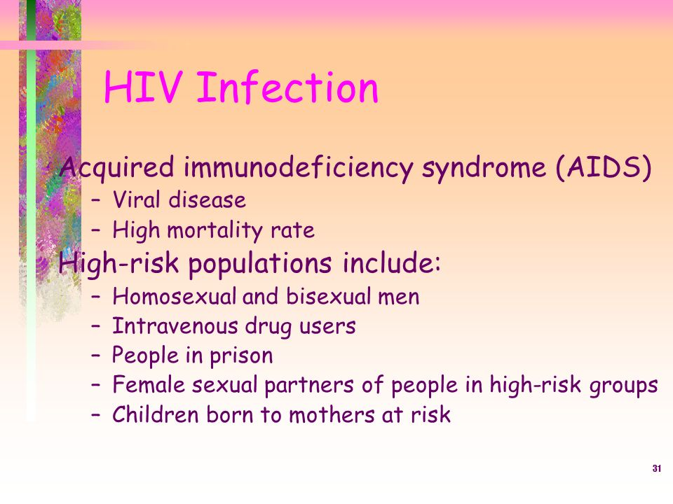 a research on acquired immuno deficiency syndrome or aids The human immunodeficiency virus (hiv) causes aids the virus attacks the immune system and leaves the body vulnerable to a variety of life-threatening illnesses and cancers common bacteria, yeast, parasites, and viruses that ordinarily do not cause serious disease in people with fully functional immune systems can cause fatal.