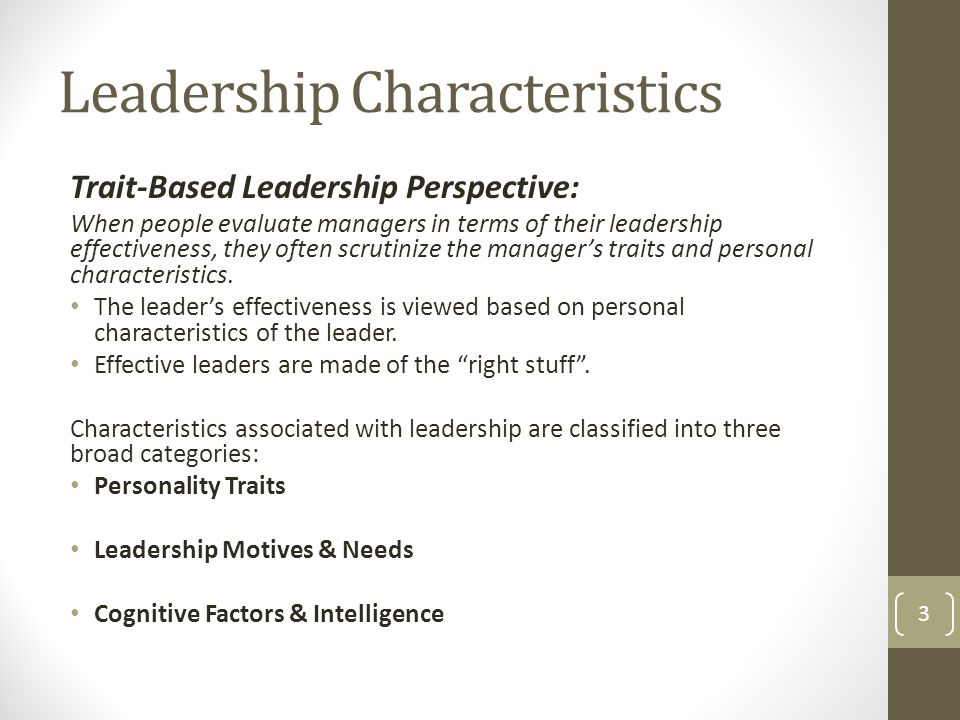 characteristics of informal leaders The power of informal leader development the less structured characteristics of informal leader development offers a viable second staff and informal leader.