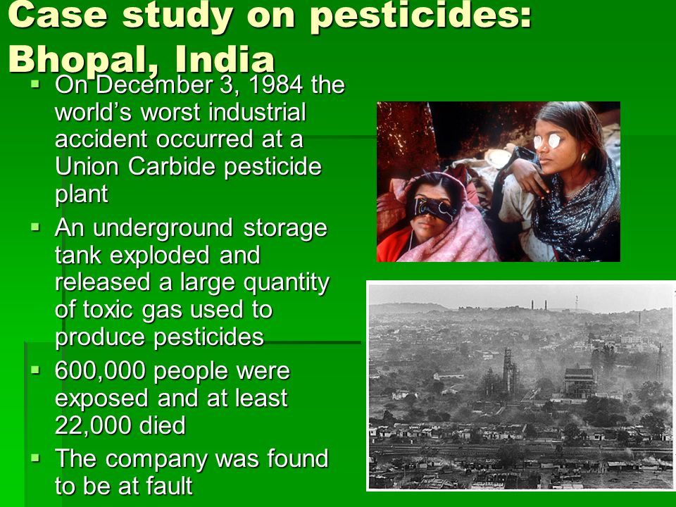 Decision to Ban DDT: A Case Study - The National Academies ...