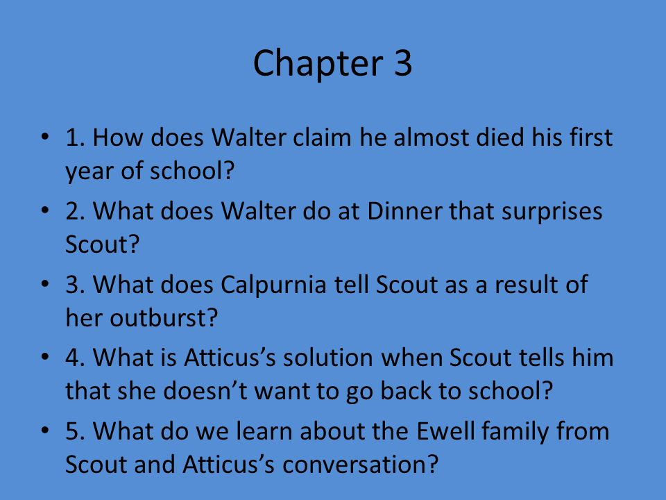What does scout learn about calpurnia death