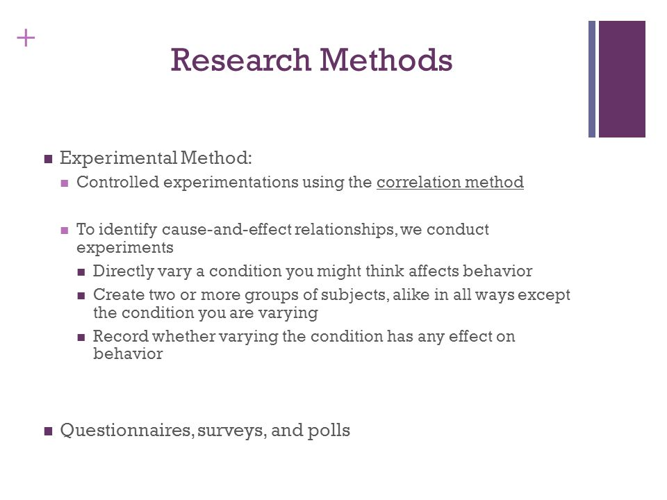 observational correlational and experimental methods The advantages and disadvantages of observational, correlational, and experimental research method.