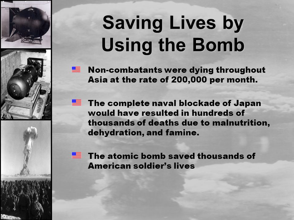 the use of atomic bomb to shorten the war in the pacific Had wanted to end the war long before the atomic bomb was dropped on hiroshima (pacific war to shorten the agony of war to use the atomic bomb.