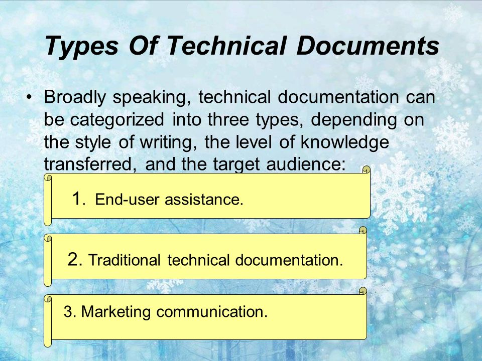 Technical writing 1.Overview 2. History 3. Feature - ppt download