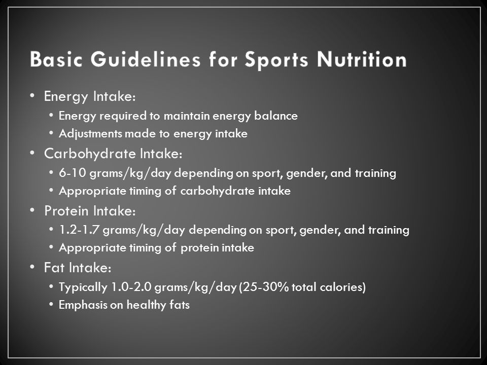 basic guidelines for nutrition The nutrition guidelines contain information and advice on globally  ity and/or use of basic health services,  good nutrition is important at all stages of.