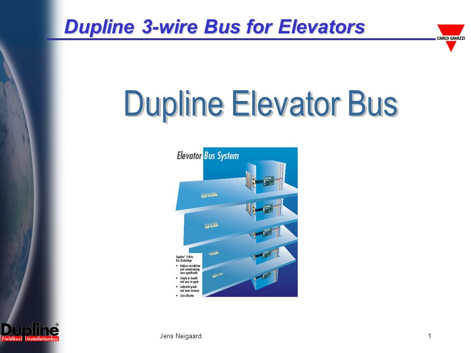 Dupline Elevator Bus Jens Neigaard. - ppt video online download