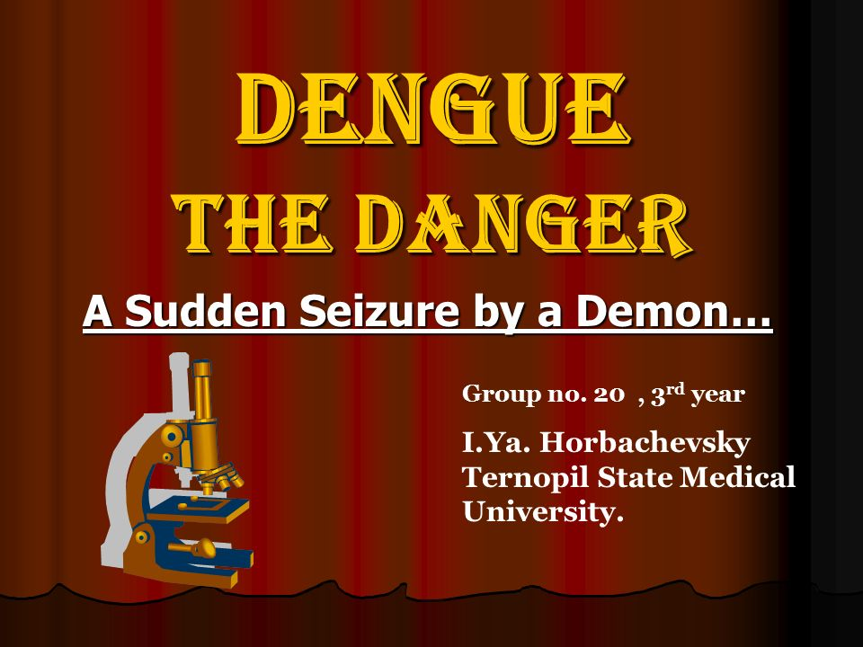A Sudden Seizure by a Demon…