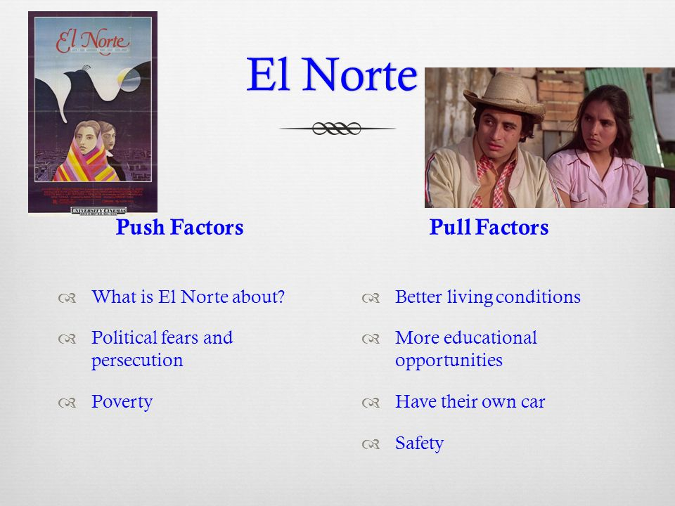 """the hardships of peasant life in el norte by gregory nava You are watching now the el norte movie has drama genres and produced in uk, usa with 141 min runtime brought to you by watch4hdcom and directed by gregory nava, mayan indian peasants, tired of being thought of as nothing more than """"brazos fuertes"""" (""""strong arms"""", ie, manual laborers) and organizing in an effort to improve their lot in life, are discovered by the guatemalan army."""