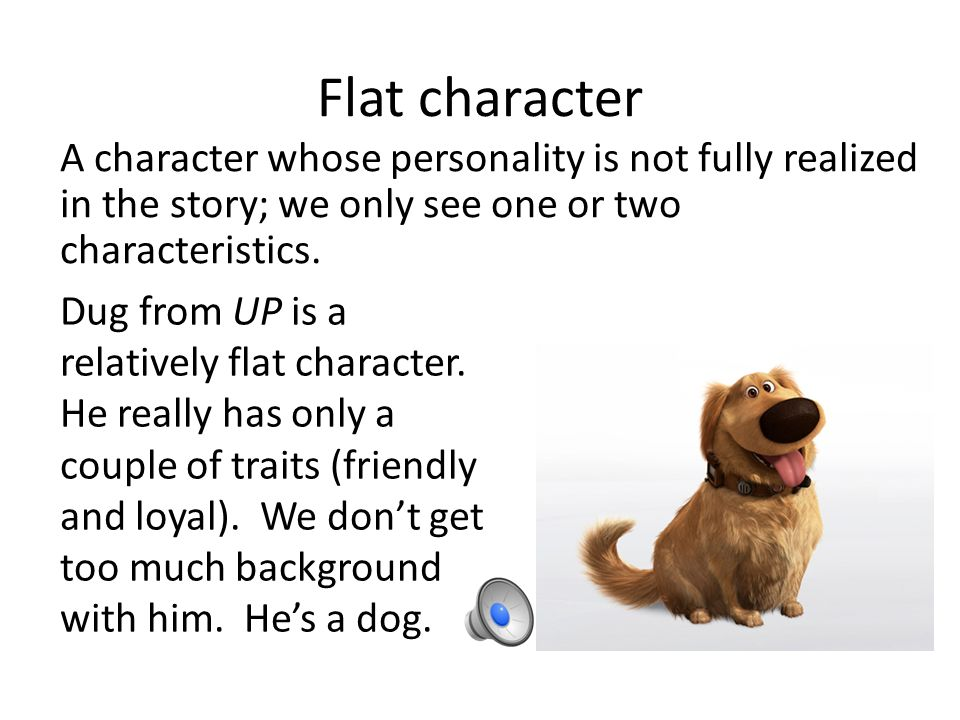Flat Character Example] 18 Round Character Example Ideal ...
