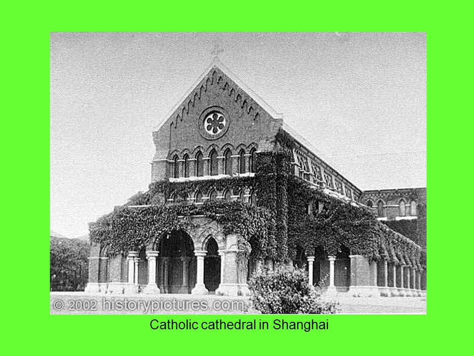 Catholic cathedral in Shanghai