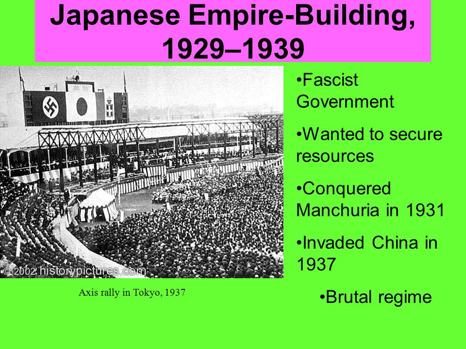 Japanese Empire-Building, 1929–1939