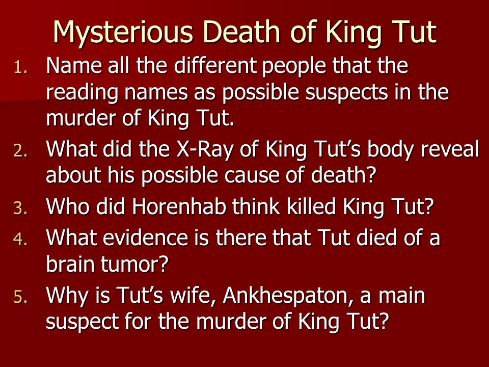 the mystery of the mummys curse essay Week 4, assignment 1: tutankhamen's tomb and the mummy's curse 2 this thesis of tutankhamen's tomb and the mummy's curse commences the notion and mystery behind some of the unexplained events following exhumation of this great king's remains.