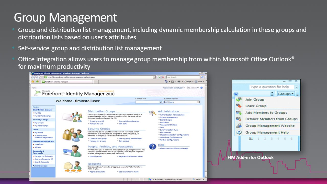 distribution list how to add office group