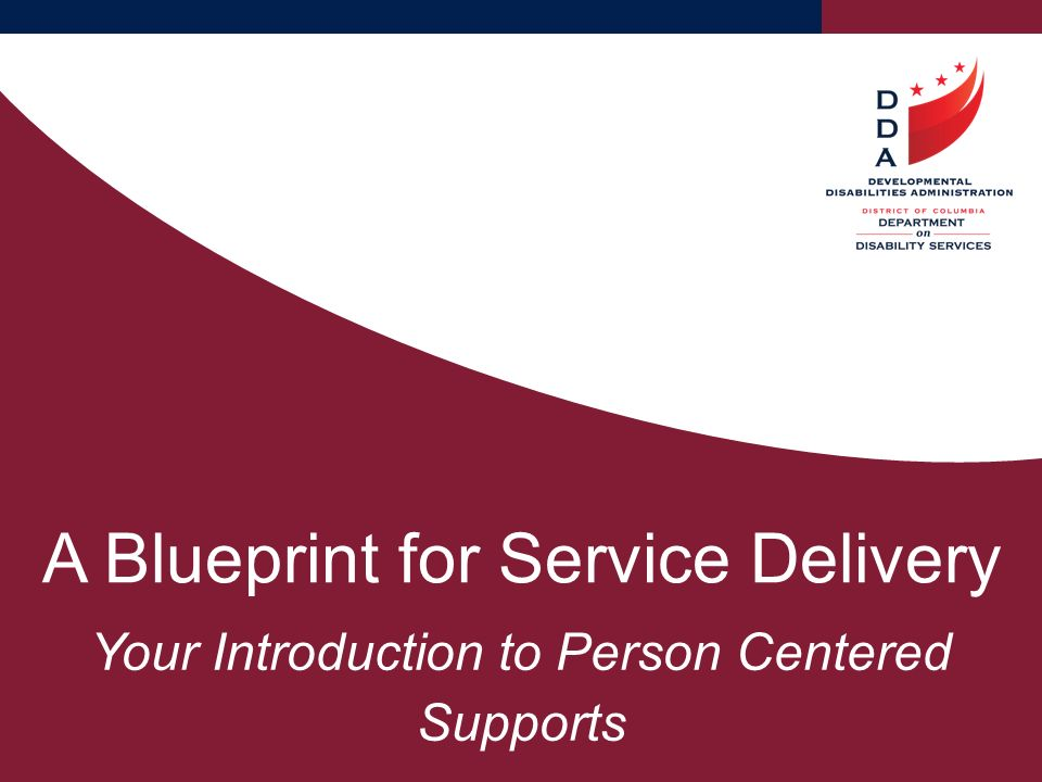 A blueprint for service delivery ppt video online download a blueprint for service delivery malvernweather Images