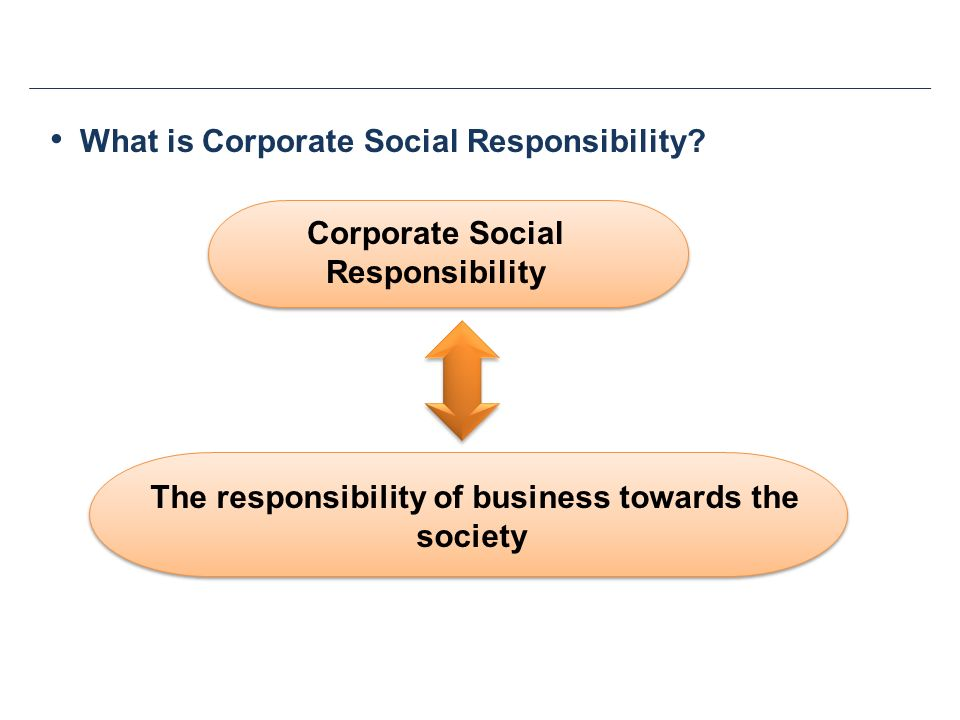 "an introduction to the corporate social responsibility concerns For the introduction of this debate see chenery to take ""action in support of broader un goals and issues as with 'corporate social responsibility."