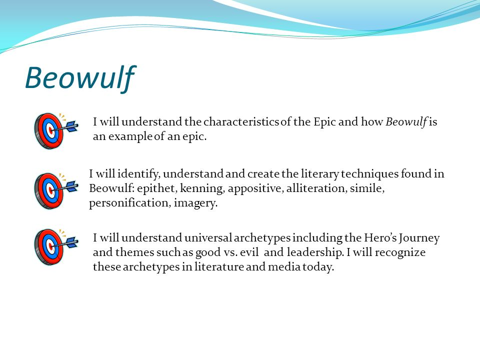 imagery examples in beowulf