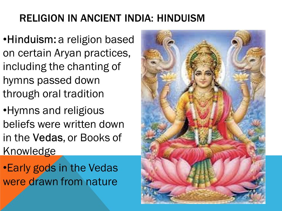 ANCIENT INDIA By Ms Bindrim Ppt Video Online Download - Ancient india religion