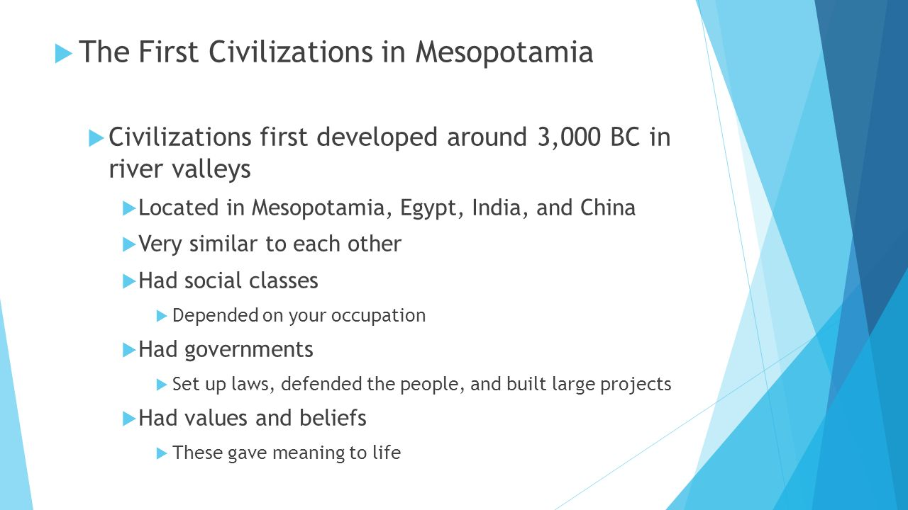 The Differences Between Ancient Egypt and Mesopotamia