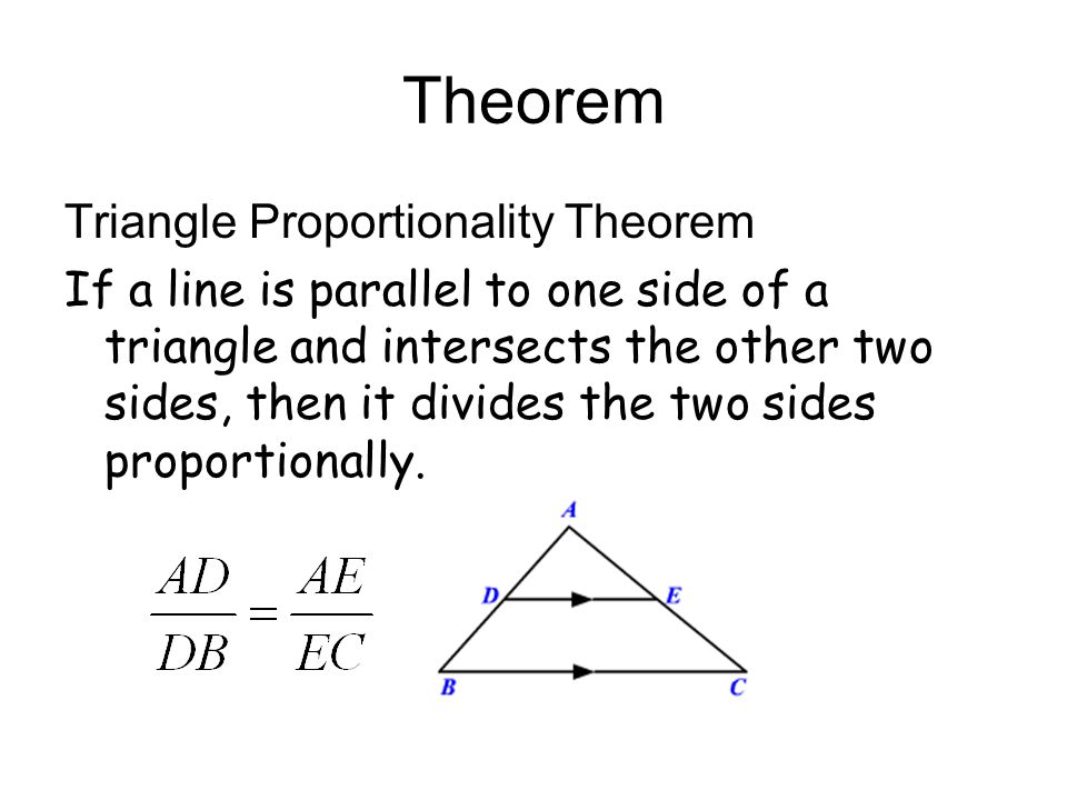 8.6 Proportion and Similar Triangles - ppt video online download