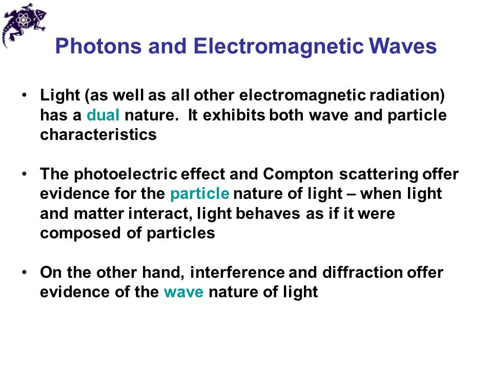 Interference Is Evidence Of The Wave Nature Of Light