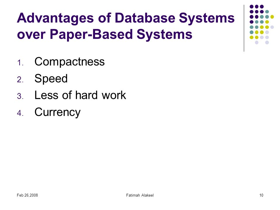 Database Design Chapter 1 Basic Concepts Reference Ppt