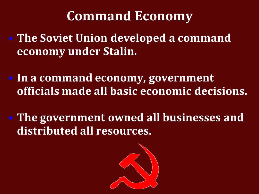 was soviet union a command economy After the collapse of the soviet union, estonia took advantage of anarrow window  of opportunity to radically reform its economy, andthese.