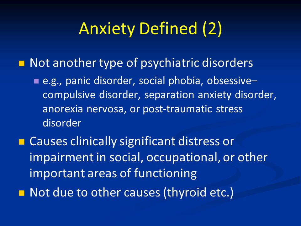 Olanzapine For Social Anxiety