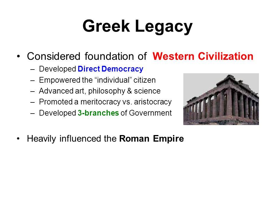 greek democracy on western civilization