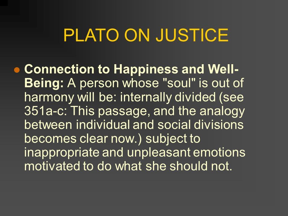 Analyzing the Theme of Justice in Plato's