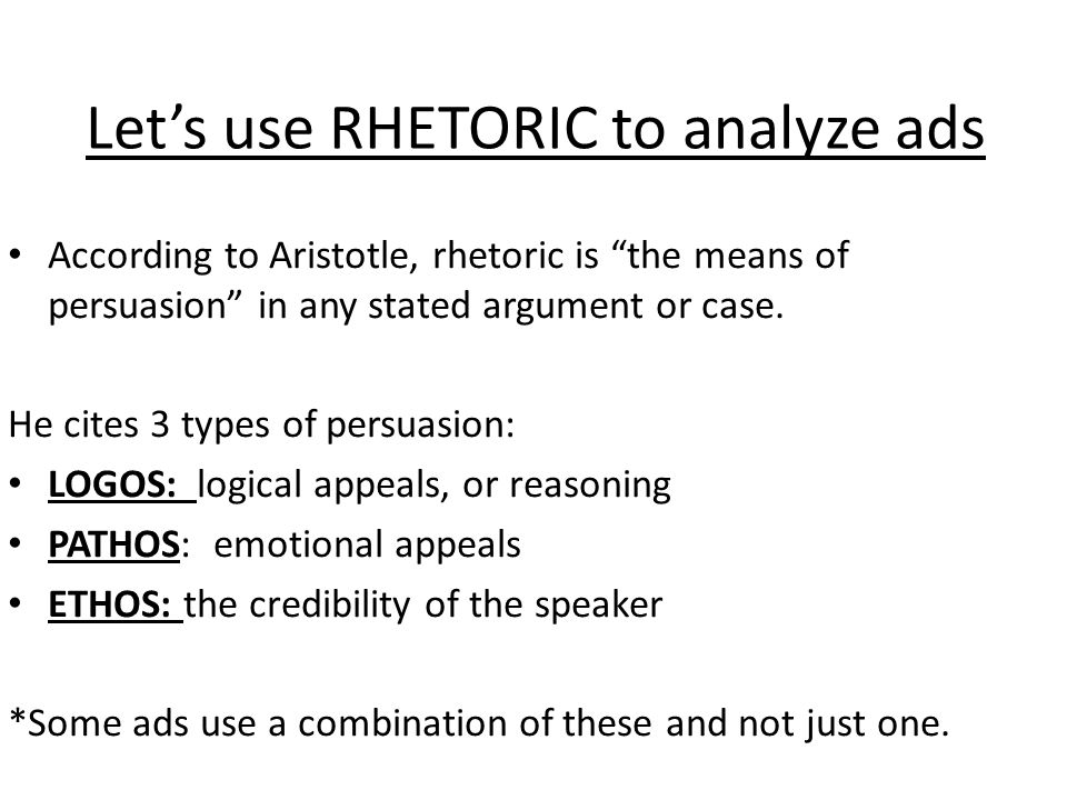 4 2 comparison of the rhetorical styles of