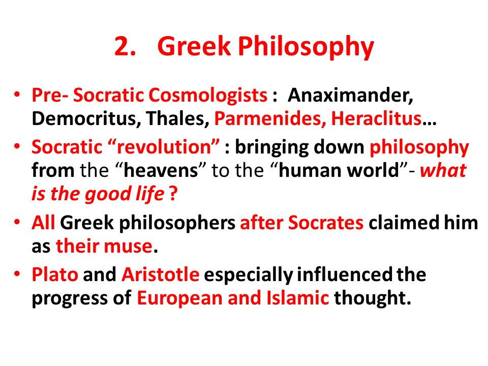 Plato s philosophical significance
