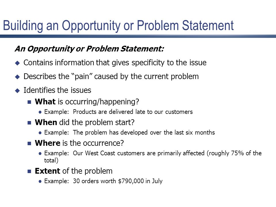 opportunity problem statements essay Get help writing your college application essays find this year's common app writing prompts and popular essay questions used by individual colleges the college essay is your opportunity to show admissions officers who you are apart from your grades and test scores (and to distinguish yourself .