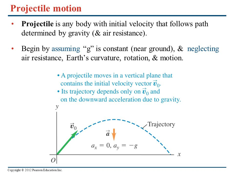 the factors of air resistance and gravity in projectiles Start studying physics- projectiles learn vocabulary, terms 16 terms kenzz03 physics- projectiles study play prejectile something thrown or launched trough the air amd only affected by gravity and air resistance acceleration due to gravity factors affect the motion of a projectile.