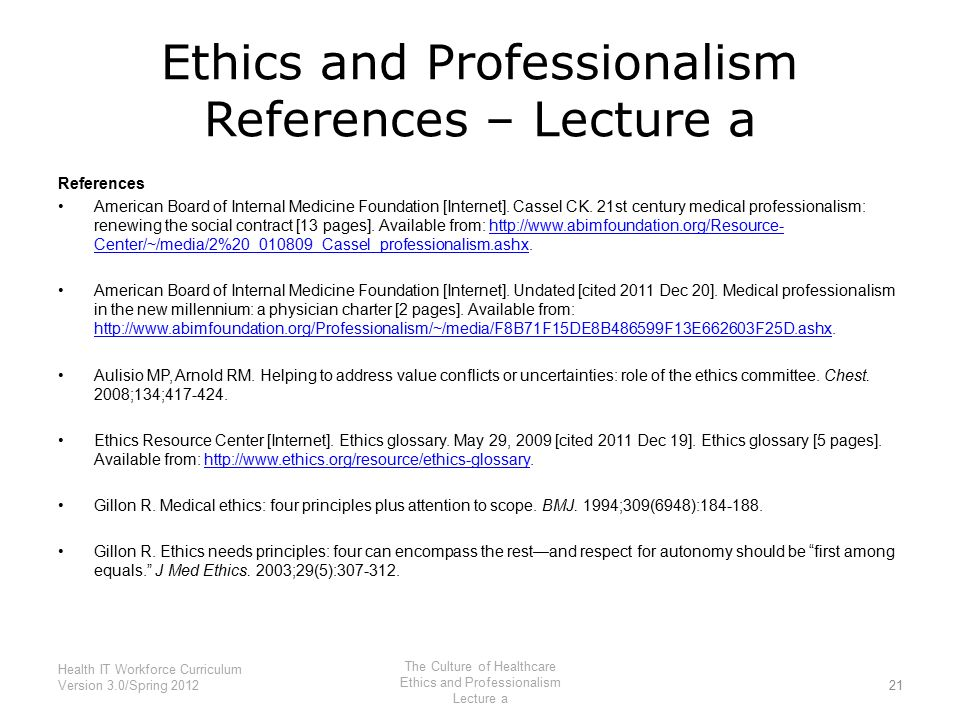 ethics references Engineerring practice, ethics & licensing - a guide to selected resources  science reference guide, library of congress.