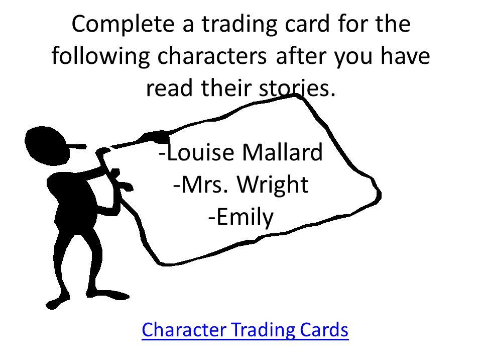 how is mrs mallard a dynamic character