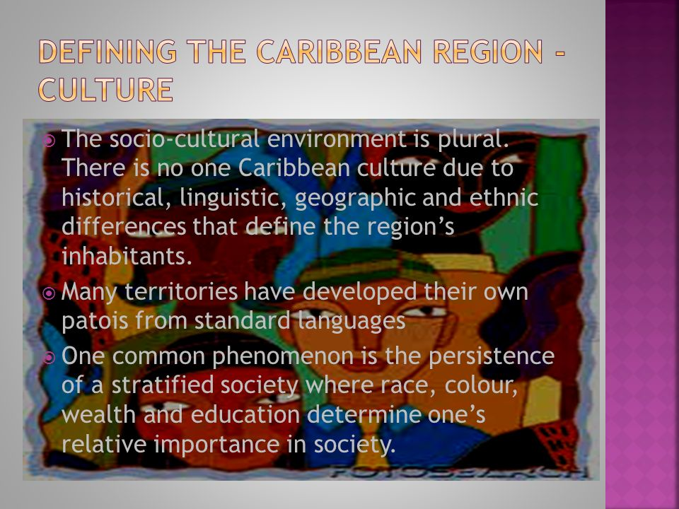 definitions of the caribbean region Definition of terms and concepts caribbean community (caricom) through social and economic development by mobilising financial resources from within as well as outside the region and by providing technical assistance to its borrowing members.