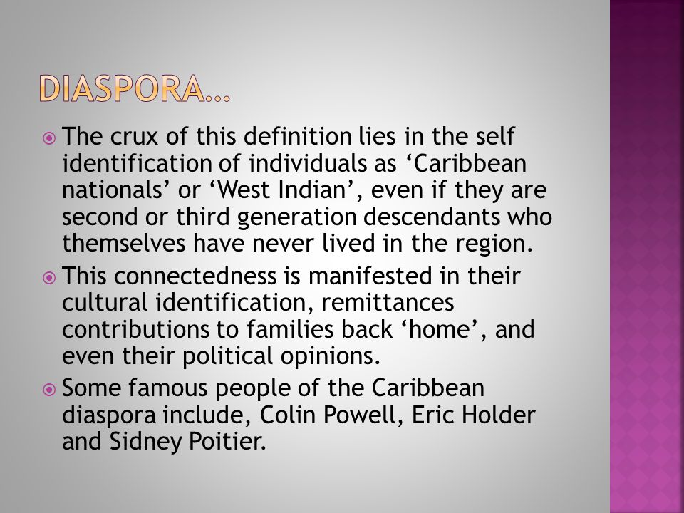defining the caribbean