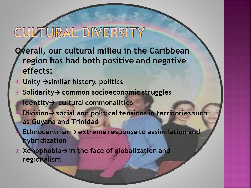 a history of the diversity of the caribbean region 2 gender and the workplace gender tension is pervasive in the contemporary caribbean region at a number of levels nowhere is it more pronounced than in the economic sphere of the workplace.