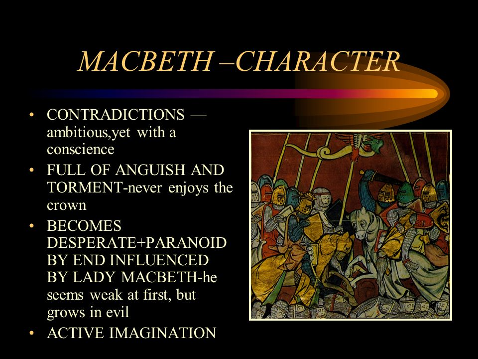 lady macbeth as a foil to Bard on the beach kicks off its season with a macbeth that moves  duncan,  comes to their castle as their guest, lady macbeth urges her husband to  craig  erickson makes the steadfast banquo a solid foil to macbeth his.
