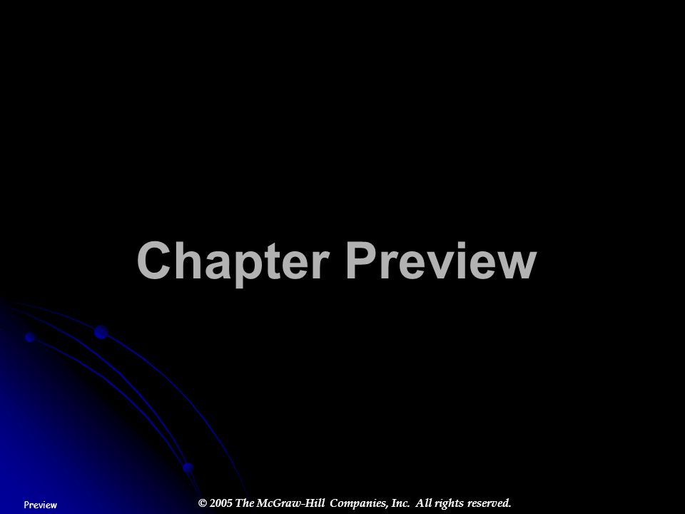 Chapter Preview Preview STEP 2