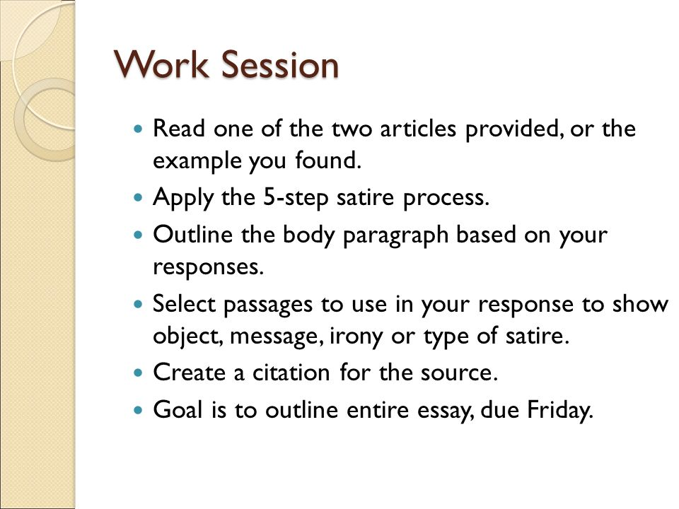 work session read one of the two articles provided or the example you found. Resume Example. Resume CV Cover Letter