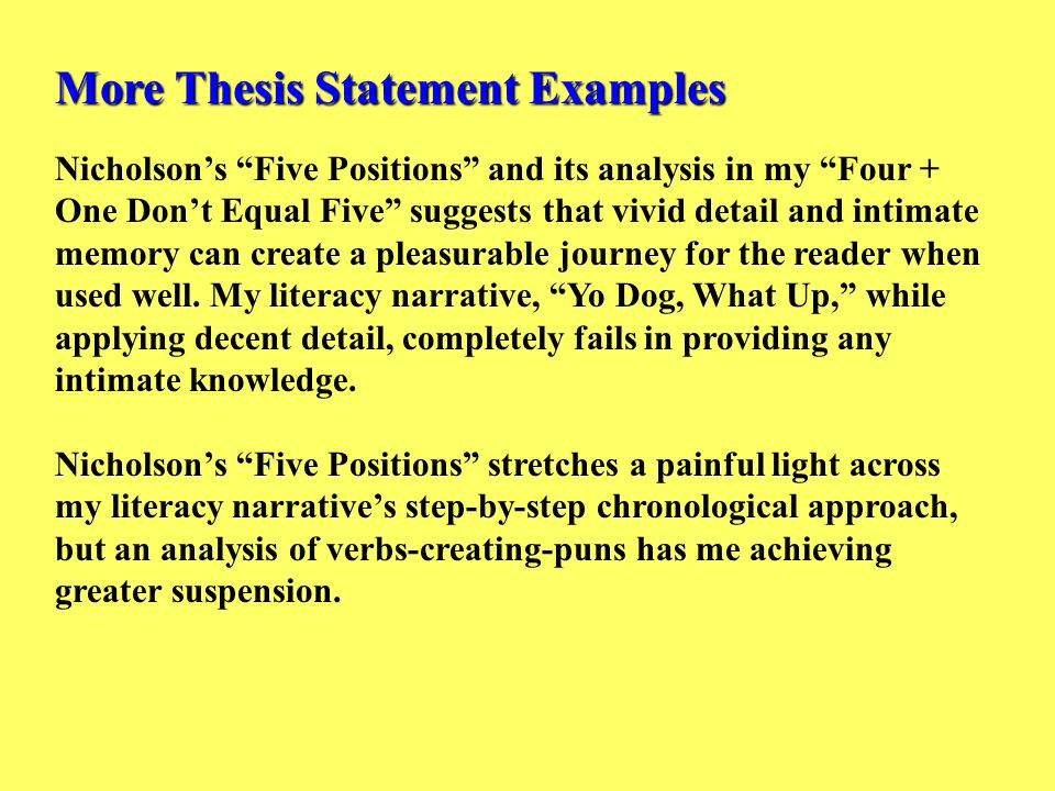Literacy Narrative Essay Technological Literacy Narrative Narrative