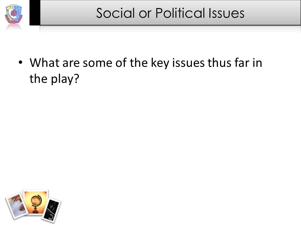 the crucible analysis essay social political issue ppt video  3 social or political issues