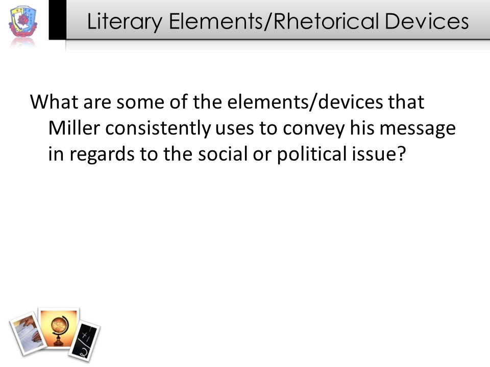 the crucible analysis essay social political issue ppt video  5 literary