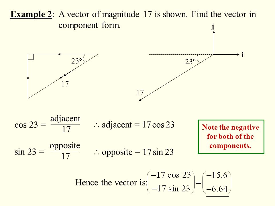 how to find vector if given is magnitude