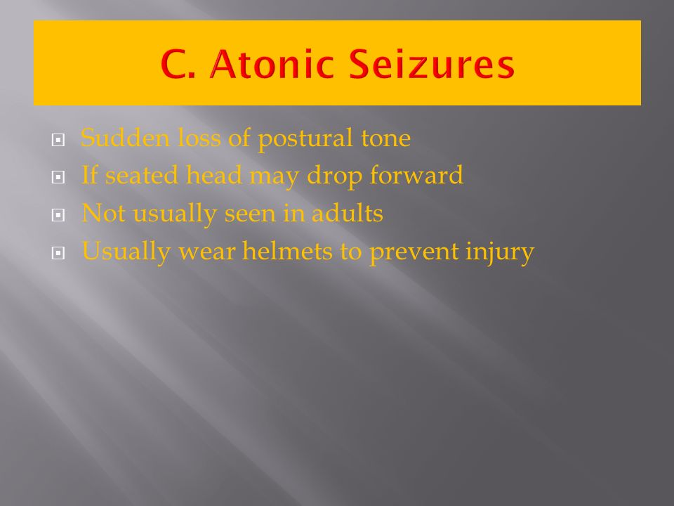 sudden seizures in adults