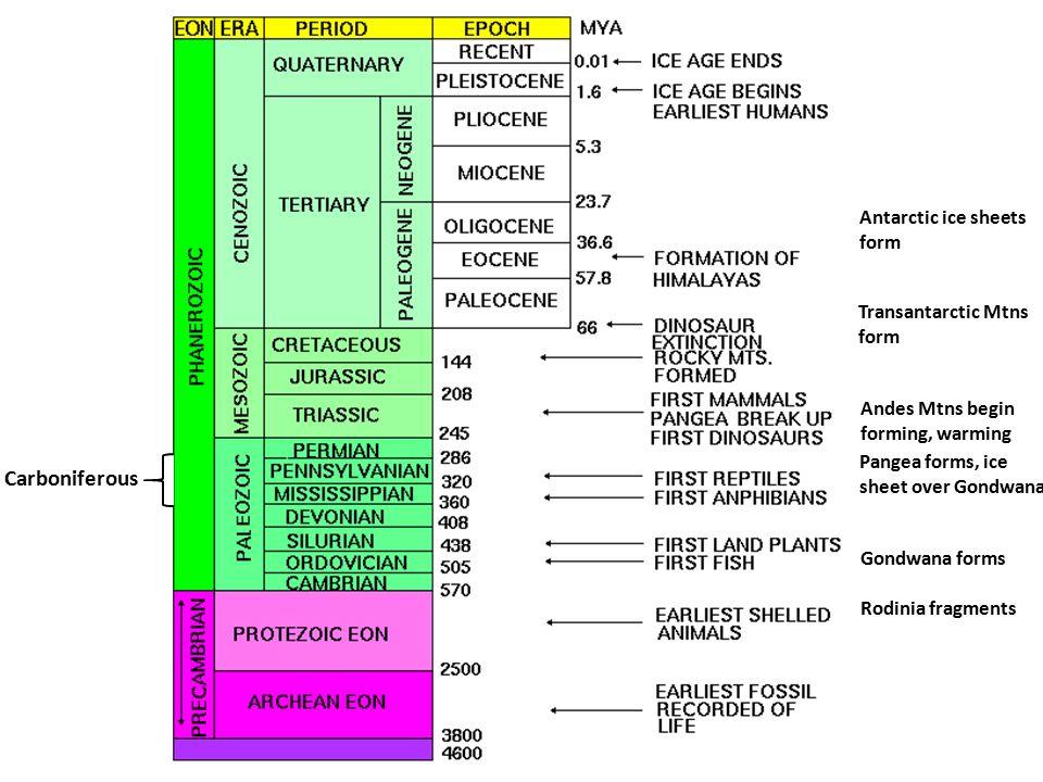 Antarctic Origins Geologic Timescale Plate Tectonics Ppt